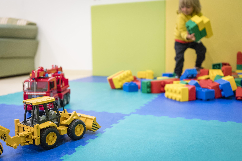La sala giochi per i bambini del la pineta for Sala giochi del garage